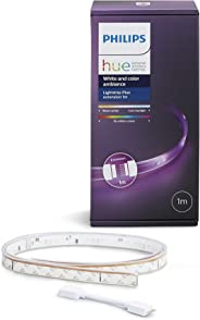 Philips Lighting LightStrip Plus Striscia LED 11 W, Bianco, 1 m, 1600 lumen  (Estensione per Kit Base da 2 m)
