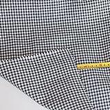 TOLKO® Meterware - Baumwollstoff blickdicht, karierter