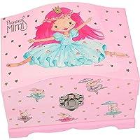 Depesche 11242 - Portagioie Princess Mimi con luce, ca. 10,8 x 14,8 x 11,5 cm