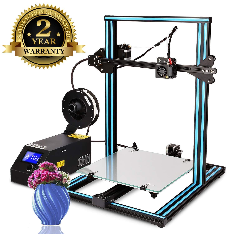 Imprimante 3D A8 Prusa I3 DIY Imprimante 3D de Bureau, Impression Rapide et de Haute précision de modèles 3D (120 mm/s), Imprimante avec ABS/PLA de 1.75 mm