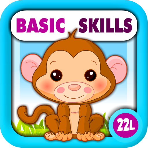 Skill Builders Mobile (Preschool All-In-One Basic Skills: Learning Adventure A to Z (Letters, Numbers, Colors, Shapes, Go Together, Patterns, 123s counting, ABCs reading) - Games for Kids - Educational Toy for Baby, Toddler and Kindergarten Explorers by Abby Monkey®)