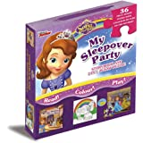 Disney Sofia the First Story & Jigsaw Carry-Along Box