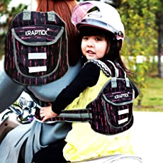 Kraptick Baby's 2 Wheeler Safety Belt (Pink)