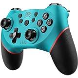 Diswoe Controller Wireless per Nintendo Switch,Switch PRO Controller Bluetooth,Bluetooth Switch Controllere con la…