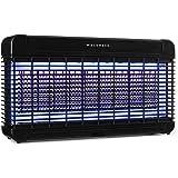 Waldbeck Mosquito Ex 9500 Chasse-moustiques à LEDs Anti-moustiques à UV (13W, Effet 300 m², LEDs, LongLife Technology, transf