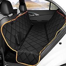 Ymiko Kofferraumschutz Hunde, Hundedecke Auto, Wasserdicht Undurchlässig Autoschondecke, Anti-RutschHundedecke für Auto Rückbank, Einfache Reinigung Alle Modelle gelten SUVs, 137.5x147.5(cm)
