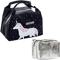 Sac à Déjeuner Lunch Bag Protection Sac Repas Lunch Bag,Sac Isotherme Repas Bureau Lunch Bag Sac de Poche Toile…