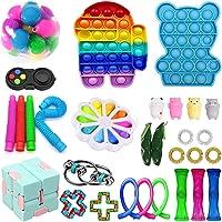 28 Pcs Fidget Toys Pack, Sensory Fidget Toys Pas Cher, Fidget Toy Set Fidget Packs Fidget Box, Fidget Pack avec Stress…