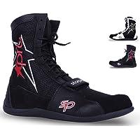 Starpro Superior Scarpe Boxe - Boxer Scarpe Ginnastica Combattono Calzature per Allenamento Esercizio Fitness Arti…