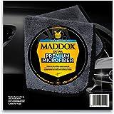 Maddox Detail - Premium Microfiber - Paño de Microfibra 40 x 40 cm, súper Suave de Alta absorción de Agua