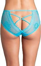 Exotic Cutout Lace Back Peekaboo Panty