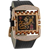 Christian Geen Analog Watch For Women - Leather, Black - 4209Llsw-Wh
