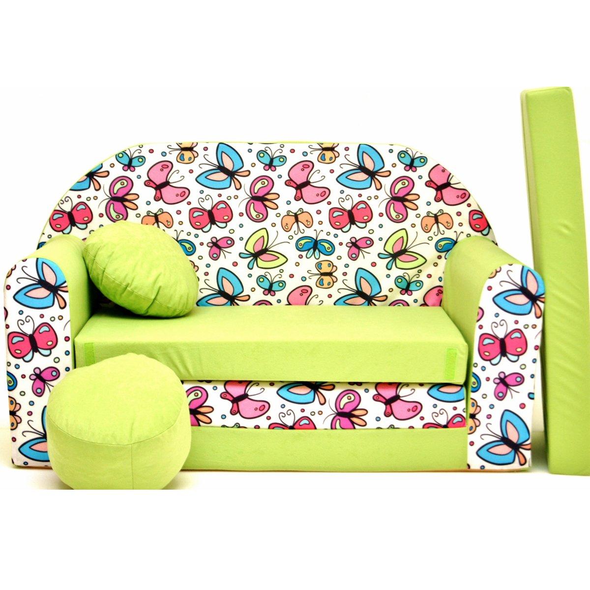 Z36-a bambini divano pieghevole divano letto divano sofa Mini Couch 3�in 1�Baby Set + sedia per bamb