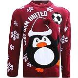 West Ham United FC Novelty Christmas Jumper