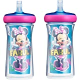 The First Years Insulated Straw Cup, Disney Minnie Mouse, 9 ounce (Pack of 2) (Y11566CA1)