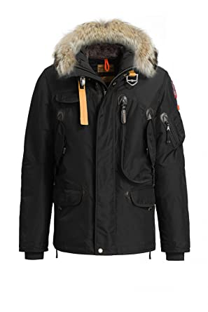 5ff81f972817 Parajumpers Jacket Righthand in Black: Amazon.de: Bekleidung