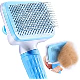 Qpets® Slicker Dog Comb Brush Pet Grooming Brush Daily Use to Clean Loose Fur & Dirt Great for Dogs and Cats with Medium Long