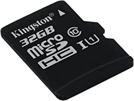Kingston SDCS/32 GBSP MicroSD Canvas Select Class 10 UHS-I Speeds Up to 80 MB/s Read (Card Only) - Bring Your HD Videos...