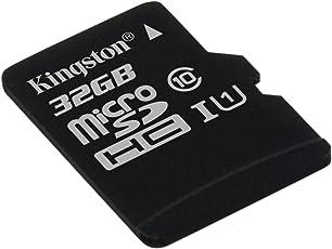 Kingston SDCS/32GBSP Canvas Select Scheda MicroSD 32 GB, Velocità UHS-I di Classe 10 fino a 80 MB/s in Lettura, senza Adattatore SD
