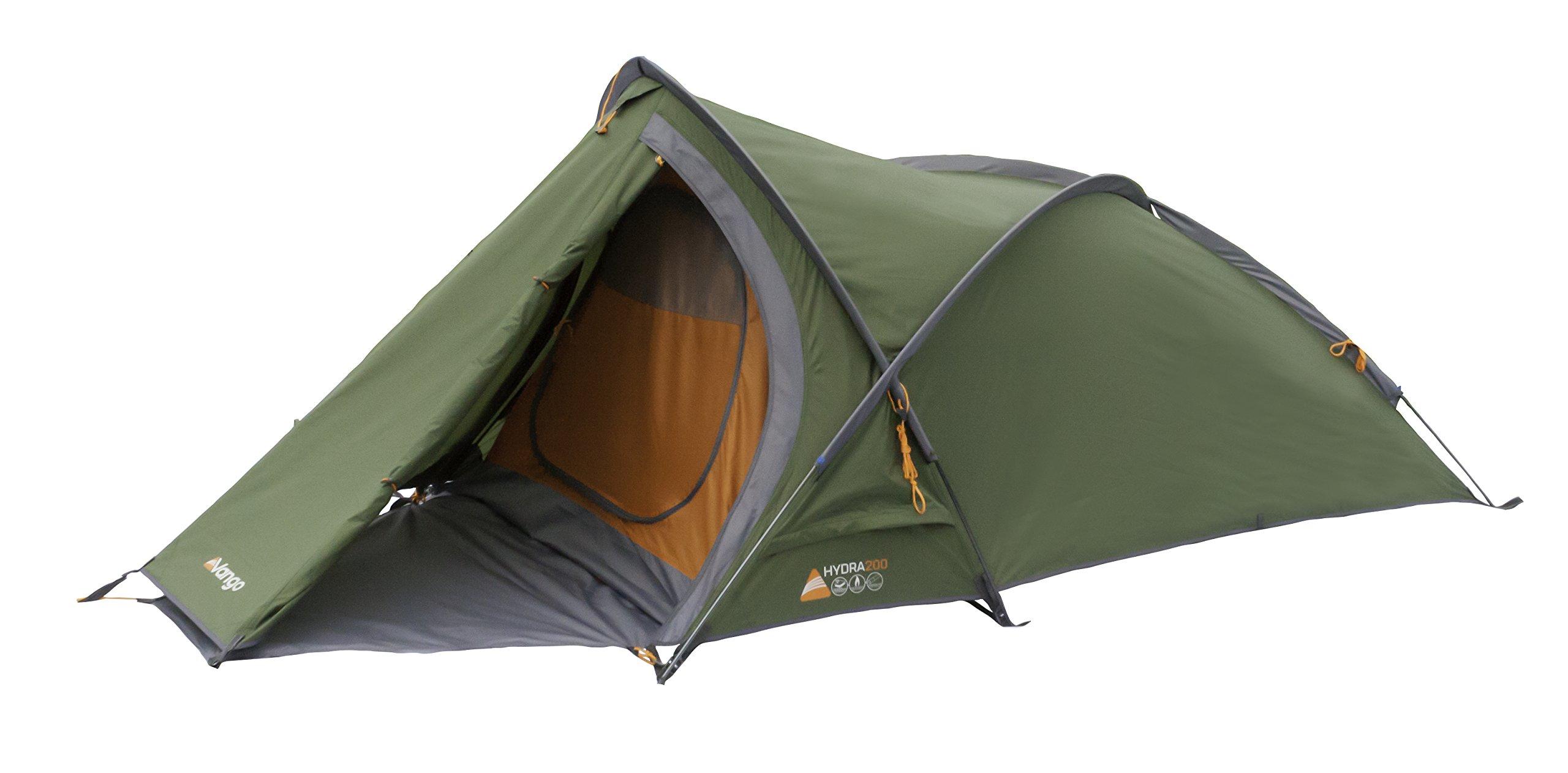 Vango Hydra Trekking Tent, Cactus Green, 200 1