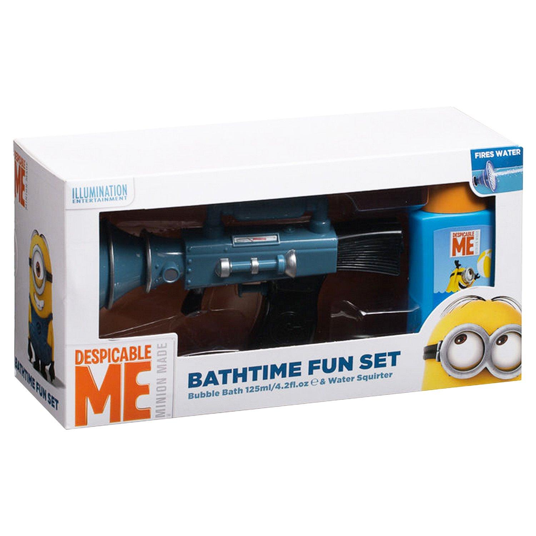 minion bathroom set.  MINIONS Water Megaphone Gift Toy 2 Piece Amazon co uk Beauty