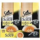Sheba Katzenfutter Classic Soups 12 Packungen (12 x 4 x 40g)