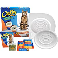 PETS EMPIRE Easy to Learn Puppy Cat Use Human Toilet Litter Trainer Training Kit