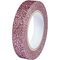 Rayher 60977268 Glitter Tape, rose antique