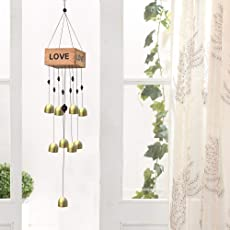 TIED RIBBONS Hanging Wind Chimes Bell for Balcony, Home, Garden, Oudoor, Patio, Office(60 cm X 9.5 cm)