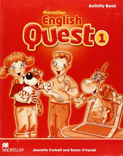 Macmillan English Quest Activity Book Level 1: Macmillan English Quest Level 1 Activity Book 1