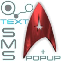 New Trek Text SMS + Animated Popup