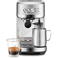Sage Appliances SES500 the Bambino Plus, Espressomaschine, 1600 Watt, Gebürsteter Edelstahl