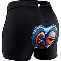 Kuyou 4D Padded Bike Shorts Men Women, Breathable Bicycle Cycling Shorts Underwear, Anti-Slip Elastic Quick Dry MTB Gel…