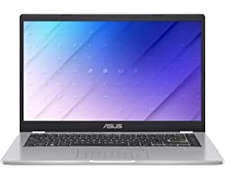 "ASUS E410MA-EK018TS - Ordenador portátil 14"" FullHD(Celeron N4020, 4GB RAM, 64GB EMMC, Intel UHD Graphics 600, Windows 10 Hom"