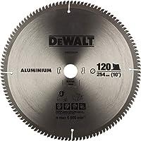 """DEWALT DW03225 10"""" 120T Circular Saw Blade for cutting Aluminium"""