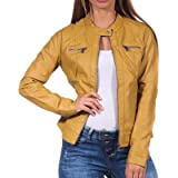 Only Onlbandit Faux Leather Biker Otw Noos Giacca Donna
