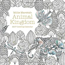 Millie Marotta's Animal Kingdom 2017 Coloring Calendar