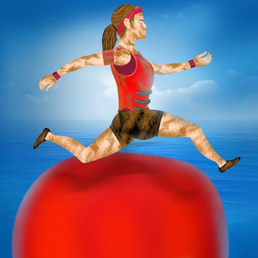 Sommer-Spaß-Spiele: TV Kandidat Hindernis Gewässer - Gratis-Edition (Sommer Teich)