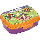 | Super Zings | Sandwichera Para Niños Decorada - Fiambrera Infantil | Caja Para El Almuerzo Y Porta Merienda Para Colegio -