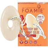 Foamie Foamie Bagnoschiuma Solido Papaia E Latte D'Avena I Docciaschiuma Effetto Massaggio (80G) - 80 g