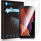 Aerku Protector de Pantalla Compatible con Samsung Galaxy Xcover 5[3 Piezas], 9H Alta Sensibilidad 2.5D[Sin Burbujas] Cristal