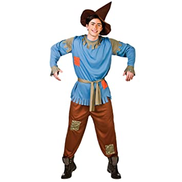 wicked costumes mens scarecrow costume amazoncouk toys games - Amazon Halloween Costumes Men