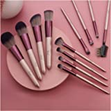 Set de brochas de maquillaje profesional Subsky 12 piezas Pinceles de maquillaje Set Premium Synthetic Foundation Brush Blend