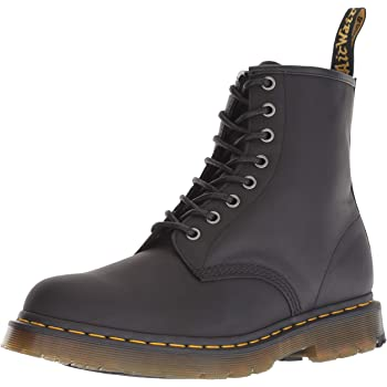 83bdc19fffc Dr Martens Unisex 1460 William Blake 8-Eye Leather Lace Up Boot Multi