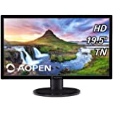 Acer Aopen 19.5-inch HD Backlit LED LCD Monitor - 200 Nits with VGA and HDMI Port - 20CH1Q (Black)