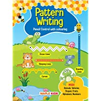 Pattern Writing – Pattern Practice Book for Kids - Pencil Control