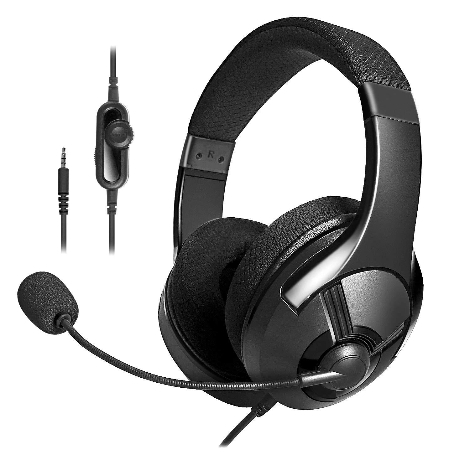 AmazonBasics – Auriculares de gaming – Negro
