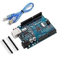 AZDelivery Mikrocontroller Board ATmega328 mit USB-Kabel und kompatibel mit Arduino Entwicklungsumgebung inklusive E…