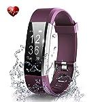 OMNiX™ ID115 Plus HR Smart Wristband Heart Rate Monitor with 0.96 Inch OLED Display KIONIX Sensor, Pedometer, Distance...