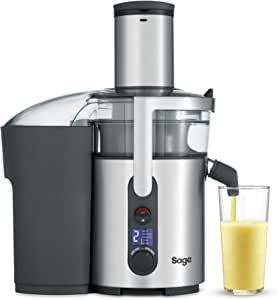 Sage BJE520UK the Nutri Juicer Plus Centrifugal Juicer - Silver